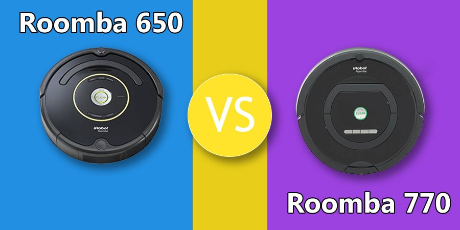 IRobot Roomba 650 vs 770 – Which is the Better Robot Vacuum? - Vacuumist