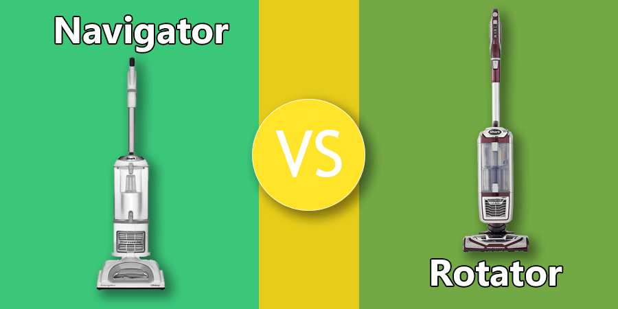 Shark Rotator vs Navigator