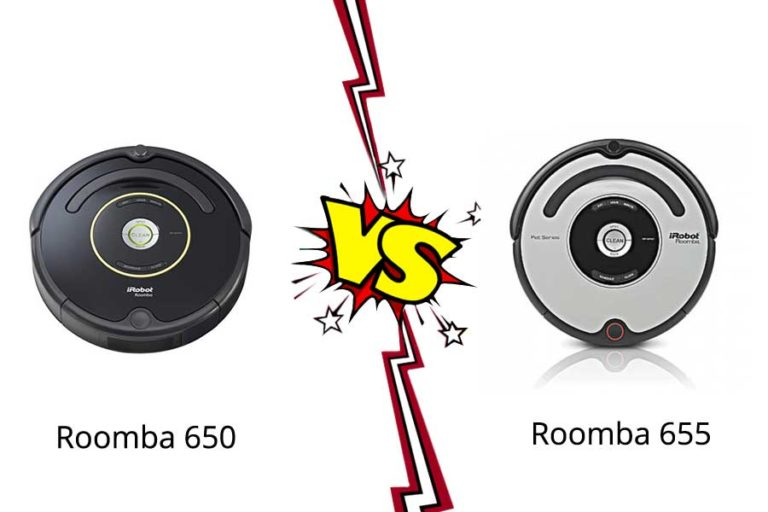iRobot Roomba 650 vs 655 –  Robot Vacuum Cleaner in a Budget