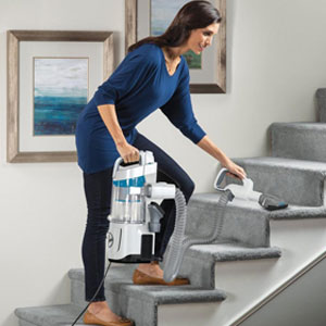 Hoover React Steerable Bagless Upright Vacuum Cleaner