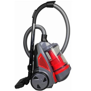 Ovente Electric Bagless Canister Vacuum