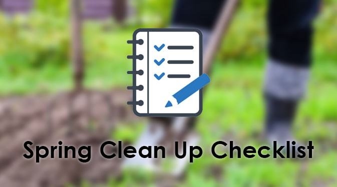 spring clean up checklist