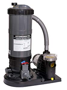 Blue wave 120 square feet cartridge filter system with 1.5 hp pump